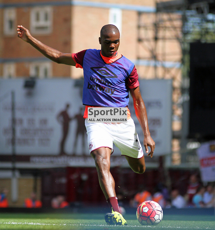 Angelo Ogbonna before West Ham United vs Bournemouth FC on Saturday the 22nd August 2015