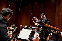 Andrés Orozco-Estrada, born in Colombia and trained in Vienna, is one of the most sought after conductors of his generation. From the beginning of the 2014/15 season, he will take up the positions of Music Director of the Houston Symphony and Chief Conductor of the Frankfurt Radio Symphony Orchestra. From September 2015 Andrés will also take up the position of Principal Guest Conductor with the London Philharmonic Orchestra.