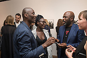 ECKOW EKSHUN; LYNETTE YIADOM-BOAKYE;; DURO OROWY, Preview of DANDYISM Photographers Gallery, Ramillies Place, Thursday 14 July 2016,