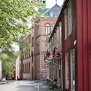 Trondheim. Three weeks aboard the Kong Harald. Hurtigruten, the Coastal Express.