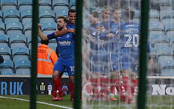 Danny Lloyd of Peterborough United celebrates scoring the opening goal of the game - Mandatory by-line: Joe Dent/JMP - 01/01/2018 - FOOTBALL - ABAX Stadium - Peterborough, England - Peterborough United v Doncaster Rovers - Sky Bet League One