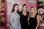 Lisa O'Brien, Lana Gregan and Amy Paga from Dressup Market, at the Connacht Gold annual 'Have It All!' food, fashion and wellness event in the Galmont Hotel & Spa, Galway.<br /> Photo: James Connolly<br /> 29NOV18