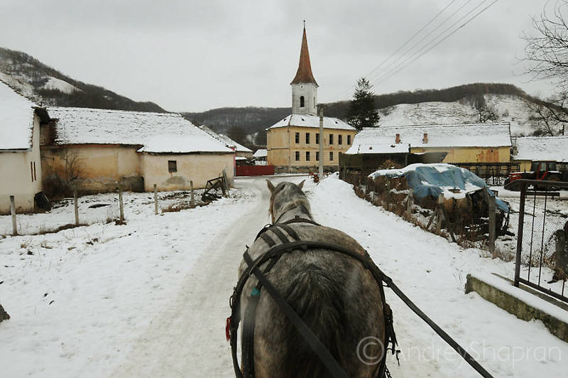 Winter in Transilvania. Romania, 2012