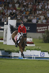 Liebherr Christina (SUI) - LB Robin Hood<br /> Mercedes-Benz Preis part of the Meydan FEI Nations Cup<br /> CHIO Aachen 2009<br /> Photo &copy; Dirk Caremans