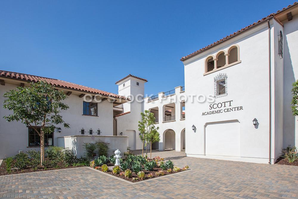 Scott Academic Center at Vanguard University Costa Mesa Californiaa