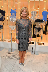 TV presenter JACQUIE BELTRAO at the Melissa Odabash & Future Dreams Preview to launch their collaborative mastectomy swimwear line in aid of the future dreams Haven appeal held at Fenwick, New Bond Street, London on 10th February 2015.