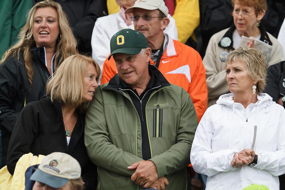 Olympic Trials Eugene 2012: former Univ of Oregon track coach Bill Dellinger