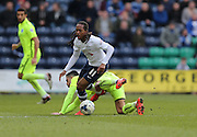 Preston North End Midfielder Daniel Johnson (11) during the Sky Bet Championship match between Preston North End and Brighton and Hove Albion at Deepdale, Preston, England on 5 March 2016.