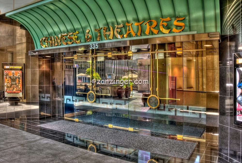 Chinese 6 Theatres, Kodak, Shopping, Center, Hollywood, Highland,  Hollywood, Boulevard, CA, High dynamic range imaging (HDRI or HDR)