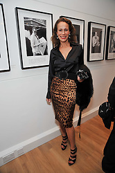 ANDREA DELLAL at a private view of photographs by Marina Cicogna from her book Scritti e Scatti held at the Little Black Gallery, 3A Park Walk London SW10 on 16th October 2009.