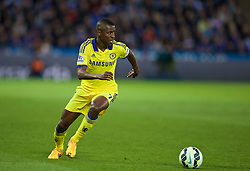 LEICESTER, ENGLAND - Wednesday, April 29, 2015: Chelsea's Ramires in action against Leicester City during the Premier League match at Filbert Way. (Pic by David Rawcliffe/Propaganda)