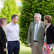19.05.2017      <br /> Pictured at The Journey to Enterprise Excellence 1 Conference, Kemmy Business School, University of Limerick were, Aisling O'Connell, Abbott, Kieran O'Mahon, Dairygold, Michael Hennessy, CPL UL and Dr. Ann Ledwith, CPL UL. Picture: Alan Place.