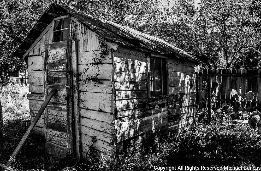 Lincoln County New Mexico old shed