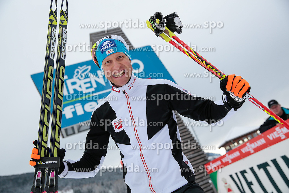 30.01.2015, Langlaufzentrum, Lago di Tesero, ITA, FIS Weltcup Nordische Kombination, Val di Fiemme, Langlauf, im Bild Bernhard Gruber (AUT) // during Cross Country of the FIS Nordic Combined World Cup Val di Fiemme at the Langlaufzentrum in Lago di Tesero, Italy on 2015/01/30. EXPA Pictures © 2015, PhotoCredit: EXPA/ Alice Russolo