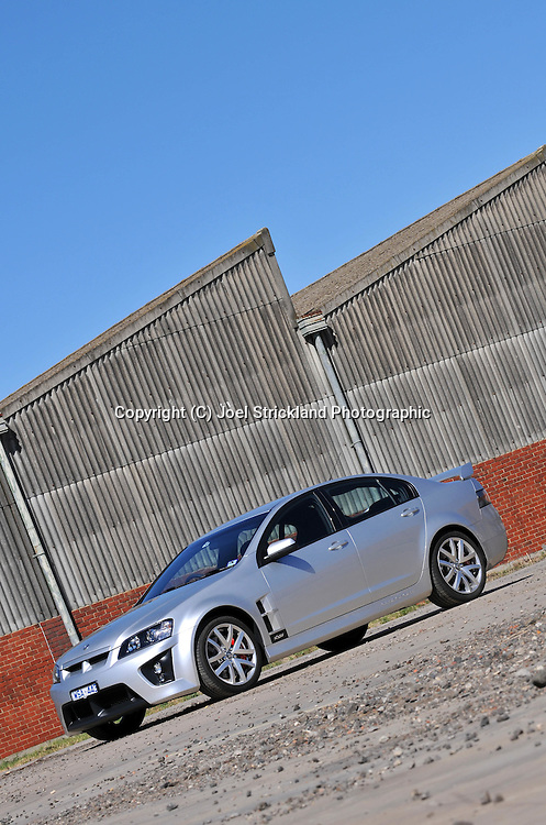 Holden Special Vehicle Clubsport R8.Photoshoot .29th of March 2009.(C) Joel Strickland Photographics