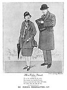 Mrs Helen Vernet. Mr Punch's Personalities. - LIV.