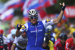 July 2, 2017 - Liege, Belgique - LIEGE, BELGIUM - JULY 2 : KITTEL Marcel (GER) Rider of Quick-Step Floors Cycling team during stage 2 of the 104th edition of the 2017 Tour de France cycling race, a  stage of 203 kms between Dusseldorf and Liege on July 02, 2017 in Liege, Belgium, 2/07/2017 (Credit Image: © Panoramic via ZUMA Press)