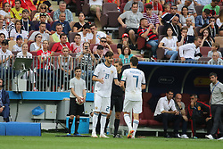 July 1, 2018 - Moscow, Russia - July 01, 2018, Russia, Moscow, FIFA World Cup 2018, the playoff round. Football match Spain - Russia at the stadium Luzhniki. Player of the national team (Credit Image: © Russian Look via ZUMA Wire)