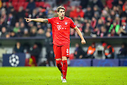 Bayern Munich defender Javi Martínez (8) during the Champions League match between Bayern Munich and Tottenham Hotspur at Allianz Arena, Munich, Germany on 11 December 2019.