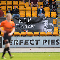 St Johnstone v Dundee United...19.04.14    SPFL<br /> Dundee Utd fans remember Frank Kopel<br /> Picture by Graeme Hart.<br /> Copyright Perthshire Picture Agency<br /> Tel: 01738 623350  Mobile: 07990 594431