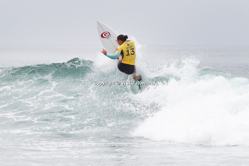 Tyler Wright placed third in Heat 3 of Round One at the Swatch Women's Pro.