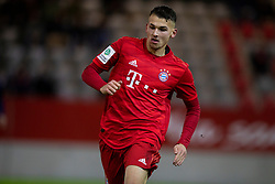 MUNICH, GERMANY - Wednesday, December 11, 2019: Bayern Munich's David Halbich during the final UEFA Youth League Group B match between FC Bayern München and Tottenham Hotspur at the FC Bayern Campus. (Pic by David Rawcliffe/Propaganda)