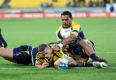 Wellington-Rugby, Super 15, Hurricanes v Brumbies