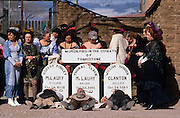 After the gunfight, reenactment of the shootout at OK Corral, Tombstone, Arizona, ©1989 Edward McCain, All Rights Reserved, McCain Photography 520-623-1998