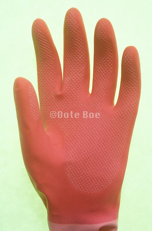 rubber kitchen glove