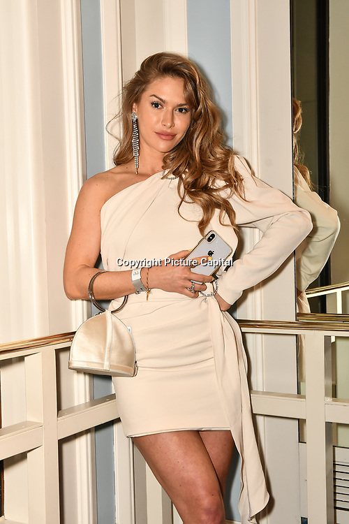 Maja Malnar attend the BritAsiaTV Presents Kuflink Punjabi Film Awards 2019 at Grosvenor House, Park Lane, London,United Kingdom. 30 March 2019