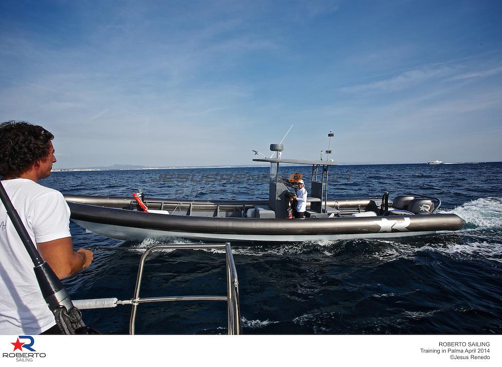 mini maxi robertissima jv 72, training in Mallorca, Spain, prior Palmavela 2014