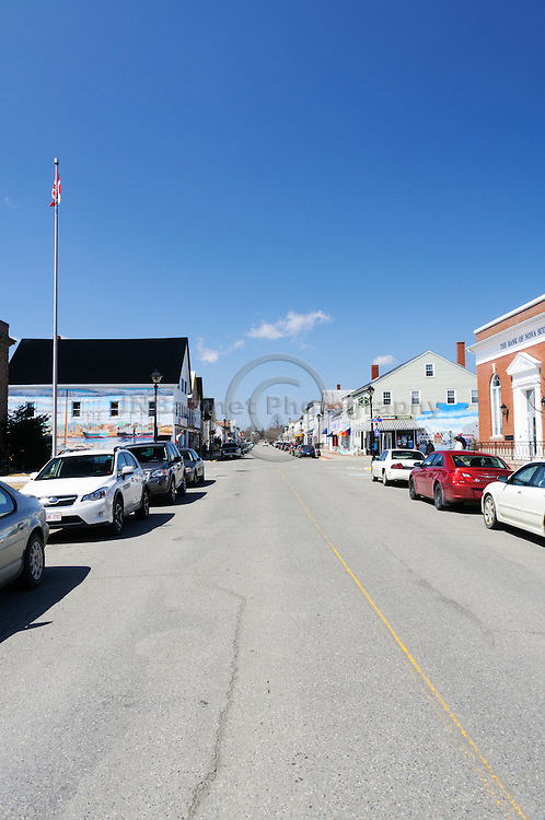 Water street in the charming, small town of St-Andrews, NB Canada