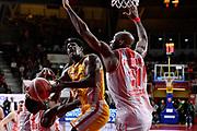 Barford Jaylen<br /> Openjobmetis Varese - Carpegna Prosciutto Basket Pesaro<br /> Basket Serie A LBA 2019/2020<br /> Varese 15 December 2019<br /> Foto Mattia Ozbot / Ciamillo-Castoria