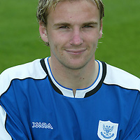 St Johnstone photocall 2004-2005 season.<br />Ryan Stevenson<br /><br />Picture by Graeme Hart.<br />Copyright Perthshire Picture Agency<br />Tel: 01738 623350  Mobile: 07990 594431