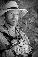 Portrait of river guide. Grand Canyon National Park, AZ.