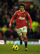 Rafael da Sliva (Man Utd) during the Barclays Premier League match between Manchester United and Blackburn Rovers at Old Trafford on November 27, 2010 in Manchester, England.