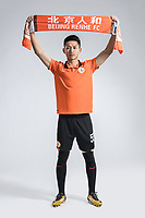 **EXCLUSIVE**Portrait of Chinese soccer player Wang Chu of Beijing Renhe F.C. for the 2018 Chinese Football Association Super League, in Shanghai, China, 24 February 2018.