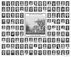 2008 Yale Divinity School Senior Portraits Composite Photograph