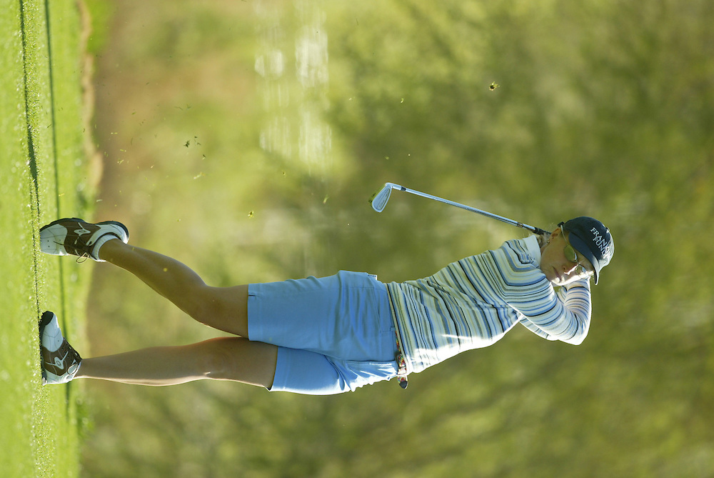 Janice Moody..LPGA Welch's Fry's Championship.Second Round.Dell Urich Course at Randolph Park.Tucson, AZ.Friday, March 12 2004..photograph by Darren Carroll