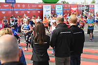 TRH The Duke and Duchess of Cambridge and Prince Harry - the official starters for the London Marathon. The Virgin Money London Marathon, 23rd April 2017.<br /> <br /> Photo: Karwai Tang for Virgin Money London Marathon<br /> <br /> For further information: media@londonmarathonevents.co.uk