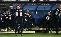 Fotball<br /> Tippeligaen Eliteserien<br /> 20.10.08<br /> Ullevaal Stadion<br /> Vålerenga VIF - Lillestrøm LSK<br /> Ingen god dag for trener Frode Grodås<br /> Foto - Kasper Wikestad