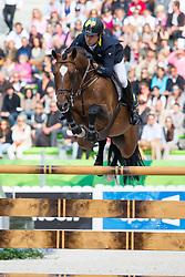 Cassio Rivetti, (UKR), Vivant - Team & Individual Competition Jumping Speed - Alltech FEI World Equestrian Games™ 2014 - Normandy, France.<br /> © Hippo Foto Team - Leanjo De Koster<br /> 02-09-14