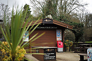 Maidenhead, United Kingdom.  General View Cafe, Coffe/ Ice cream/ various snacks. Raymill Island banks of the River Thames. <br /> <br /> Friday  03/02/2017 <br /> <br /> © Peter SPURRIER,<br /> <br /> Leica Camera AG  LEICA M (Typ 262)  1/360 sec.  mm 2.4 100 ISO.  28.1MB