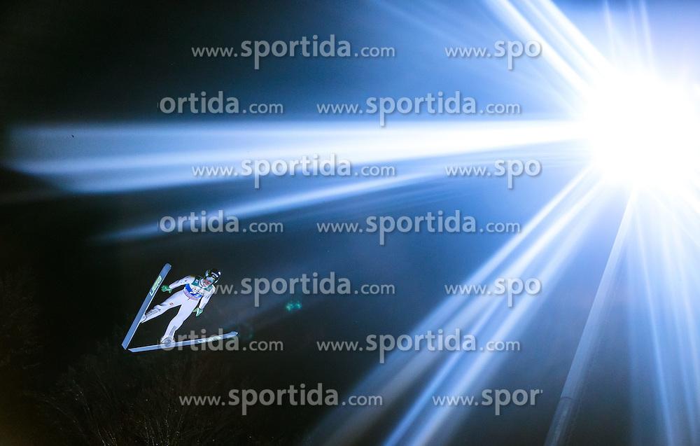 05.01.2015, Paul Ausserleitner Schanze, Bischofshofen, AUT, FIS Ski Sprung Weltcup, 63. Vierschanzentournee, Qualifikation, im Bild Peter Prevc (SLO) // during Qualification of 63rd Four Hills Tournament of FIS Ski Jumping World Cup at the Paul Ausserleitner Schanze, Bischofshofen, Austria on 2015/01/05. EXPA Pictures © 2015, PhotoCredit: EXPA/ JFK