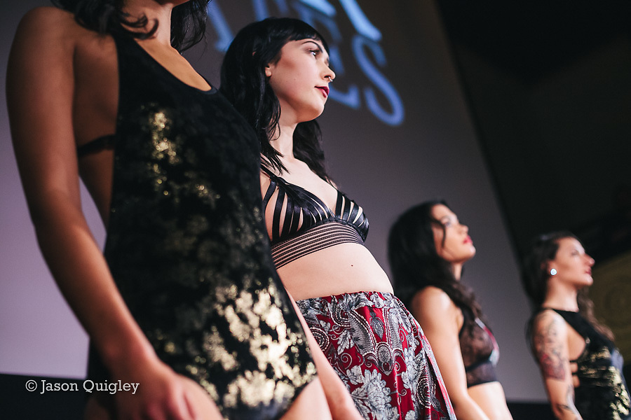 Seeker Intimates at Unmentionable: A Lingerie Exhibition at the Mission Theater in Portland, OR. Feb. 8, 2017. Photo by Jason Quigley www.photojq.com