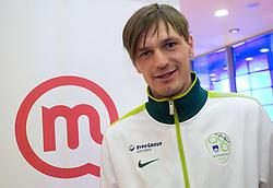 Milivoje Novakovic at visit  of Slovenian National Football team in Mobitel center, on May 19, 2010 in Ciytpark, BTC, Ljubljana, Slovenia. (Photo by Vid Ponikvar / Sportida)