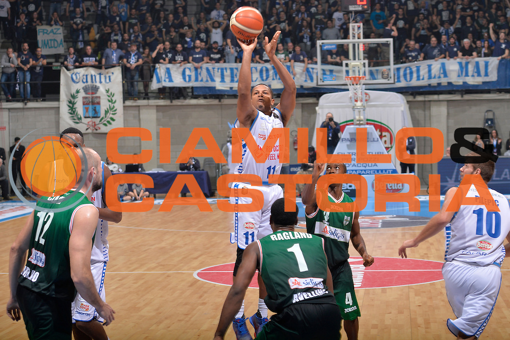 Dominic Waters<br /> Red October Pallacanestro Cantu - Sidigas Scandone Avellino<br /> Lega Basket Serie A 2016/2017<br /> Desio, 12/12/2016<br /> Foto Ciamillo-Castoria