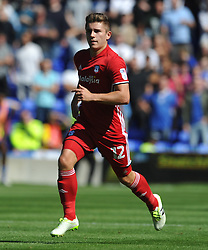 DECLAN JOHN  CARDIFF CITY, Birmingham City v Cardiff City Sky Bet Championship  6th August 2016 <br /> Photo: Mike Capps