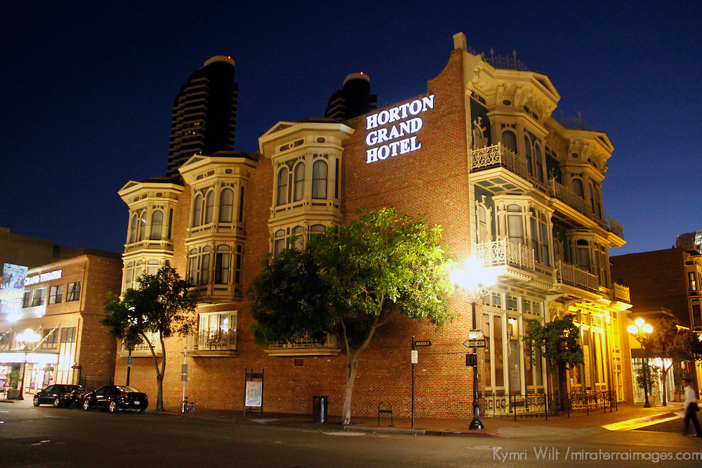 USA, California, San Diego. Horton Grand Hotel.