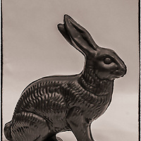 Easter inside Philippe Bernachon's chocolate factory (bw)